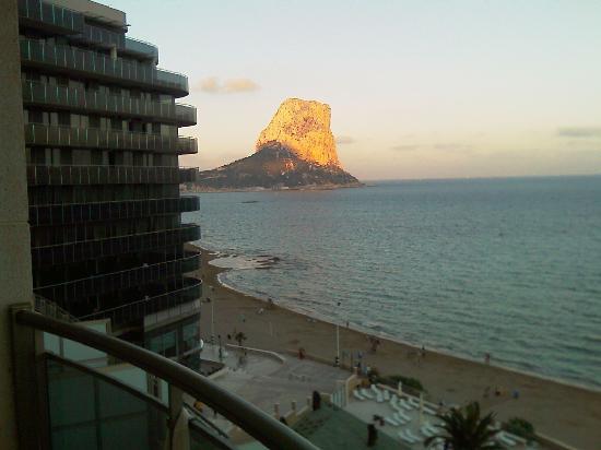 Hotel Bahia Calpe: vista desde nuestra habitacion 1
