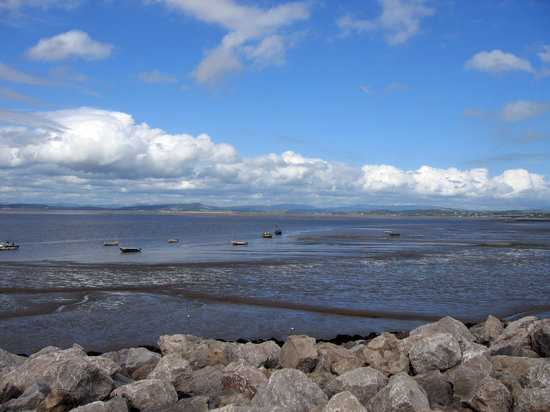 Morecambe, UK : The view from the front