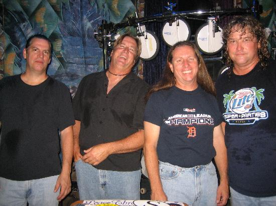 Hurricane Grill : If you are lucky, you might catch the Fleetwoods playing live at the 'Cane