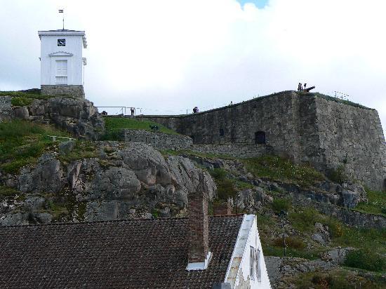 Fortaleza de Fredriksten: View from the top of Fredriksten Castle, Halden, Norway