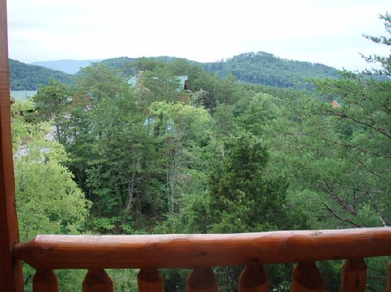 Eagles Ridge Resort: View from back porch of cabin #849