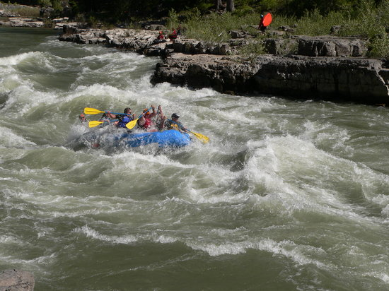 Dave Hansen Whitewater and Scenic River Trips: Great Kahuna Rapids on Snake River