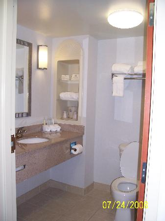 Holiday Inn Express Hotel & Suites Mooresville - Lake Norman: bathroom