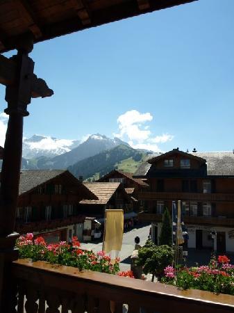 Hotel Baren: view from balcony