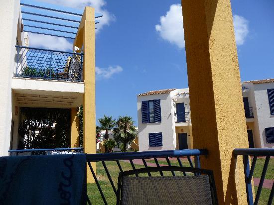 Aparthotel Paradise Club & Spa: View from verander