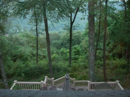 Santosha on the Ridge Bed and Breakfast Sanctuary: View from our room