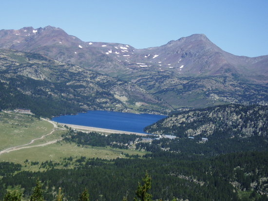 Font-Romeu-Odeillo-Via, France : Lac Bouillouses