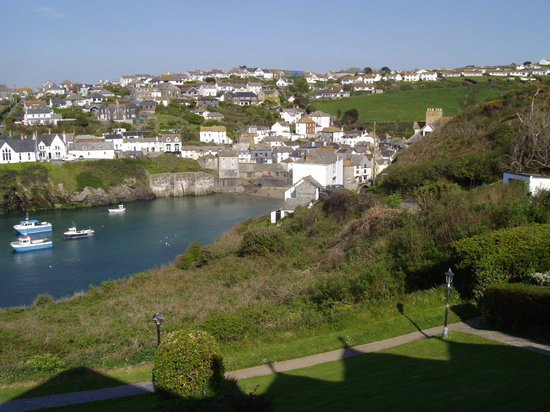Port Isaac, UK: view from bedroom