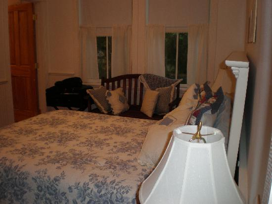 The Iron Gate Inn: View of our room