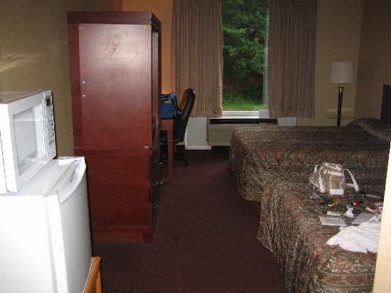 Econo Lodge : Double Room with Fridge and Microwave