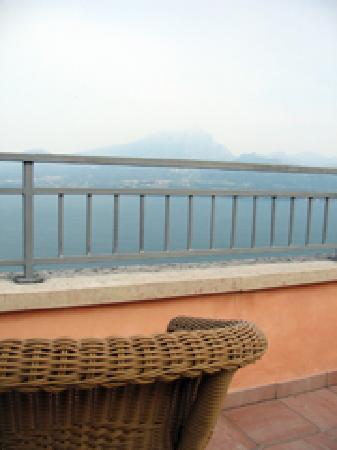 Hotel Panorama Ristorante: Aussicht von der Terrasse