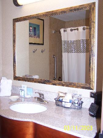 Hampton Inn & Suites Yuma: Bathroom