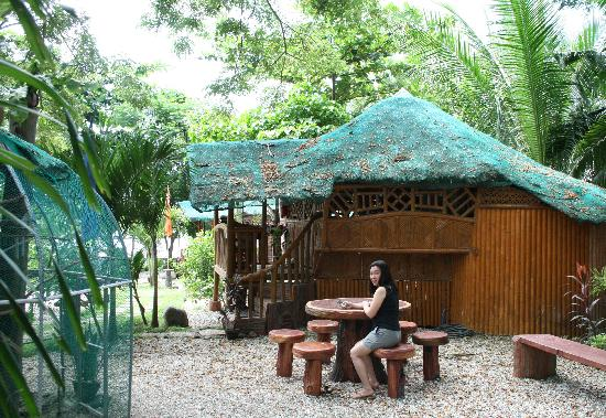 Sea Forest Resort: one of the overnight cottages where we stayed