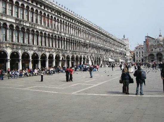 Procuratie Vecchie On The Piazza San Marco Venice Italy
