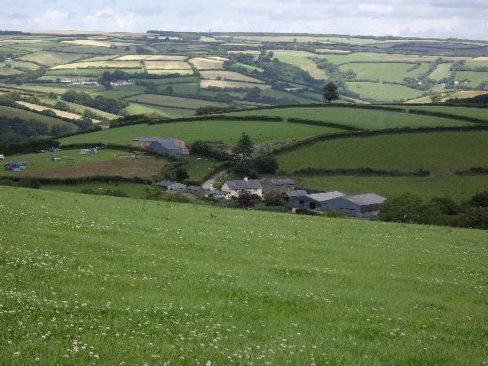 Higher Langridge Farm : The rolling Somerset countryside