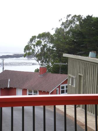 Cottages at Little River Cove: View from the deck of Farallon