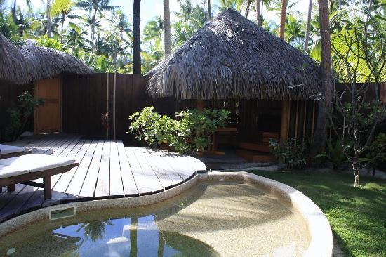 Bora Bora Pearl Beach Resort & Spa: Garden Pool Suite