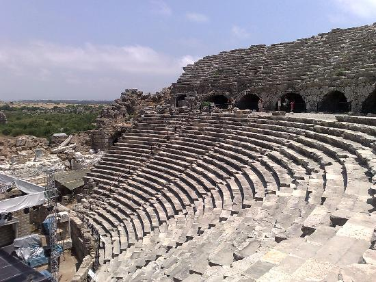 Side Ampitheatre - Picture of Greek Amphitheater, Side ...