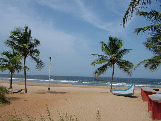 Covelong, India: The Beach