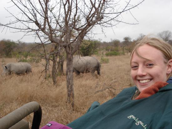 Gwalagwala: Me with the Rhinos