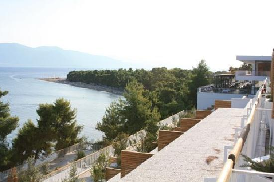 Club Med Gregolimano: view from balcony
