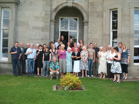 Baskerville Hall Hotel: happy smiling faces all round !