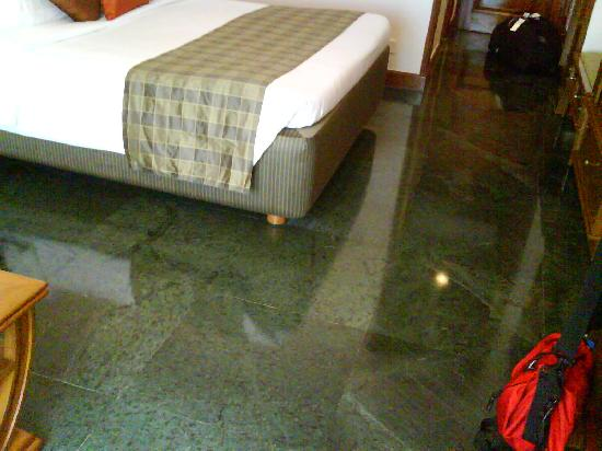 The Ummed Ahmedabad: check the cool flooring!