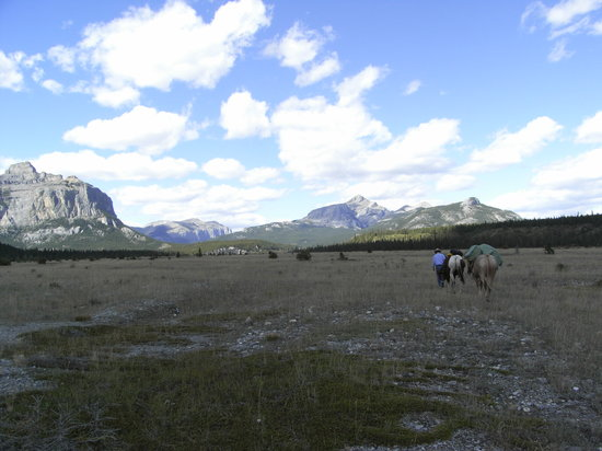Brewster's Kananaskis Guest Ranch : The Ghost River