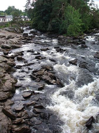 Killin, UK: The Falls of Dochart 2