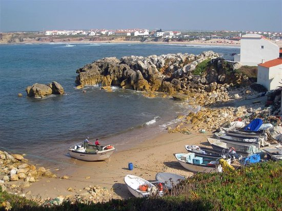 Baleal, Portugal: View from the breakfast terrace