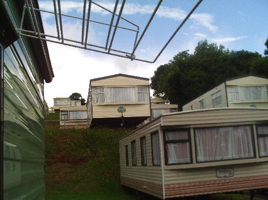 caravans at torquay holiday park - Picture of Torquay