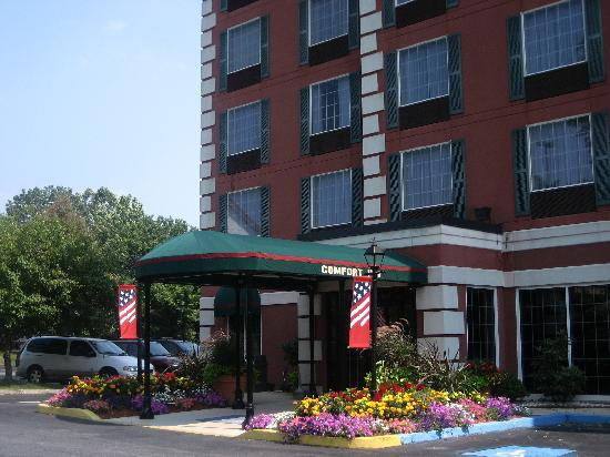 ‪‪Comfort Inn at the Park‬: Comfort Inn Hershey - Front Entrance‬