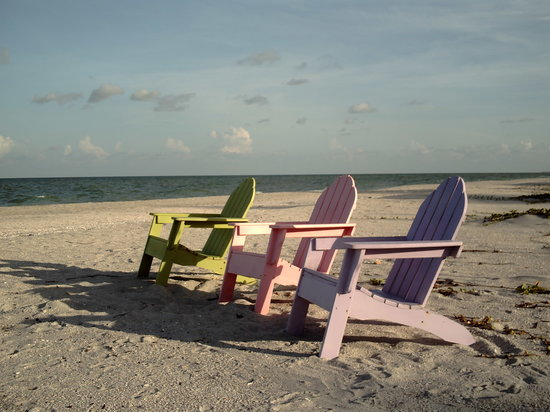 Captiva Island, Flórida: Just wanna sit!