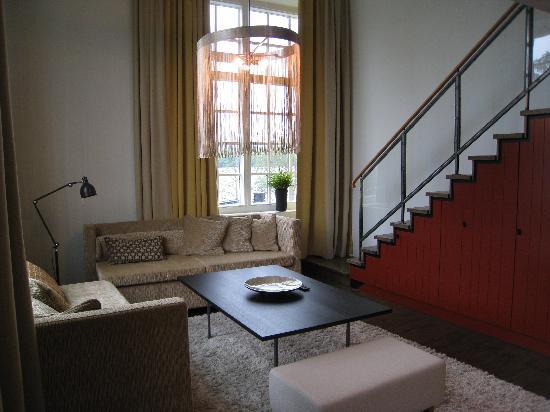 Naas Fabriker Hotel och Restaurang: Stair