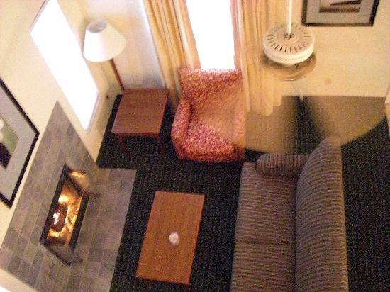 Residence Inn South Bend: Wohnzimmer