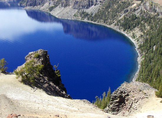 Crater Lake National Park, OR: The Blues of Crater Lake