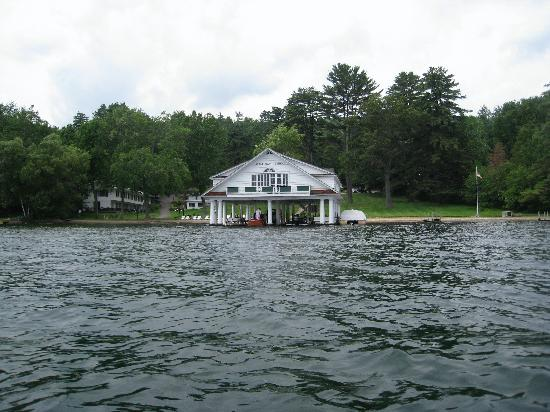 Still Bay Resort: View from the lake