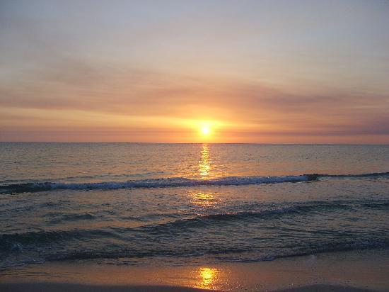 Beautiful Cape San Blas sunset