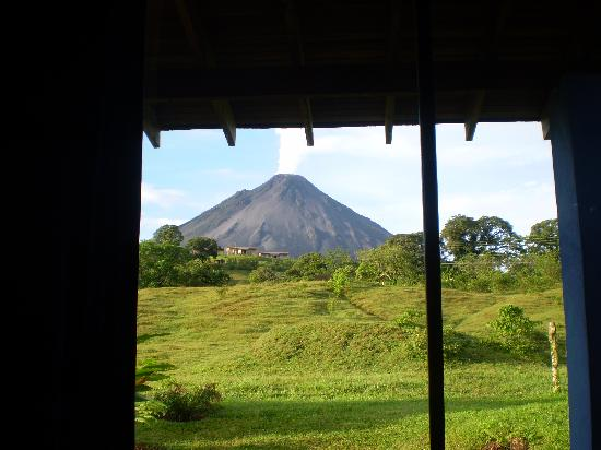 Erupciones Inn Bed And Breakfast: View from room