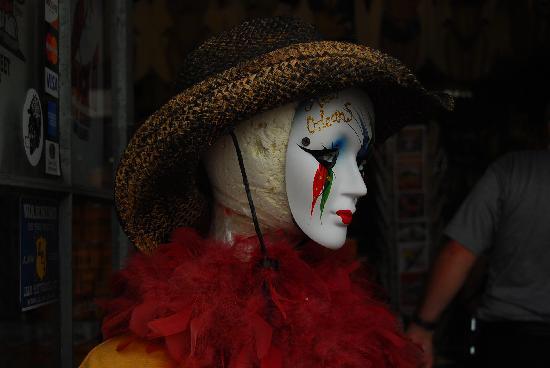 New Orleans, LA: Mardi gras mask