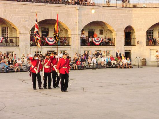 Fort Henry (Fort Henry National Historic Site): Fort Henry Guard Colour Party