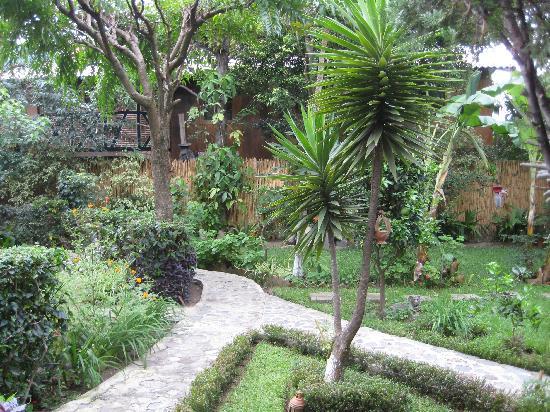 Hotel Utz Jay: The garden