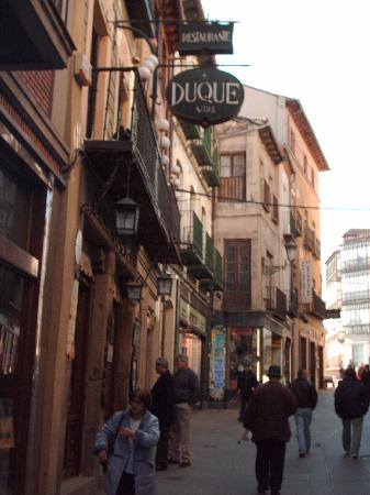 Restaurante Duque: Outside Casa Duque