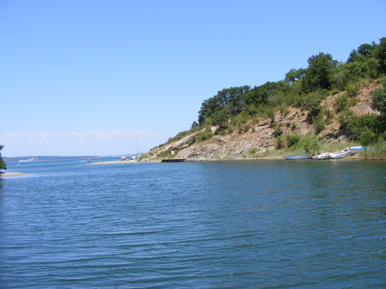 Bulgarie : river mouth of the Ropotamo