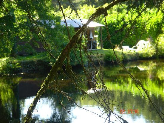 La Ferme du Lac : During a walk.
