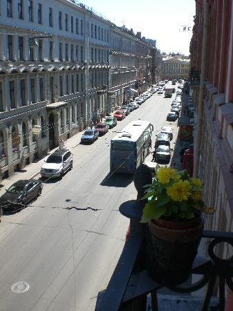 Rachmaninov Art-Hotel: Blick aus dem Fenster