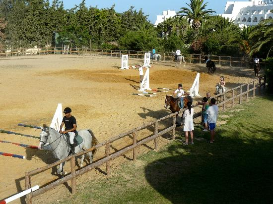 SENTIDO Le Sultan: Riding horses