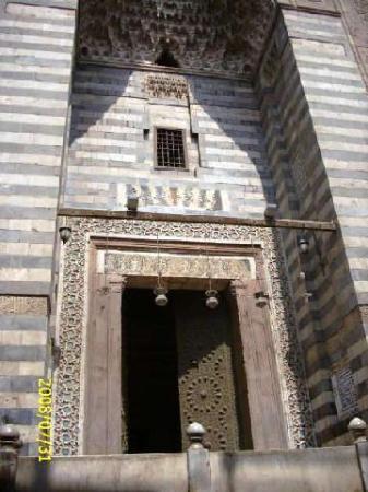 Al-Maridani Mosque, entrance