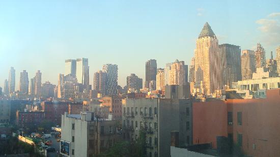 Travel Inn Hotel New York: vue depuis notre chambre
