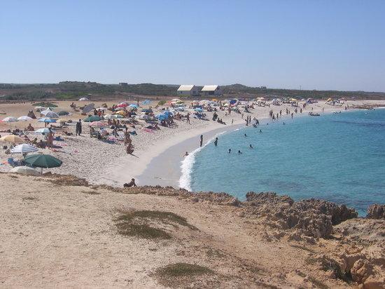 Arborea, Italia: La spiaggia di Is Arutas in tutta la sua bellezza